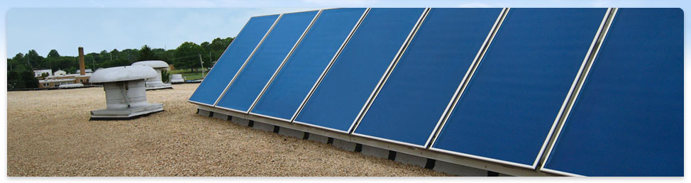 Commercial Solar Thermal Collectors